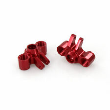 Traxxas Ford Fiesta 1:16 Alloy Front/Rear Axle Carriers, Red Atomik - TRX 7034