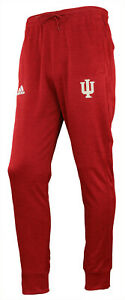Adidas NCAA Men's Indiana Hoosiers Climawarm MV Anthem Pant, Red