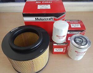 Genuine Ford Ranger Oil Air Fuel Filter Service Kit PK PJ 2.5 & 3.0 Diesel