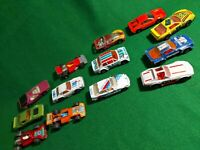 "13x Matchbox vintage sports race  3"" Diecast lesney cars superfast"