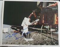 """""""Apollo 12"""" Astronaut Alan Bean Hand Signed 10x8 Color Photo Todd Mueller COA"""