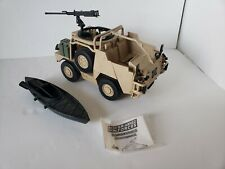 HM ARMED FORCES JACKAL TANK VEHICLE AND RAFT