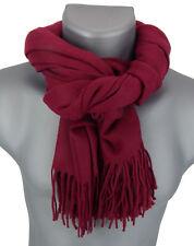 5e9349f7a08 Hugo Boss écharpe rouge logo NOUVEAU écharpes pour hommes mod ALBAS 100%  laine. 69
