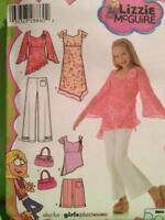 Simplicity Sewing Pattern 4722 Girls Dress Tunic Pants Size 8 1/2 -16 1/2 UC