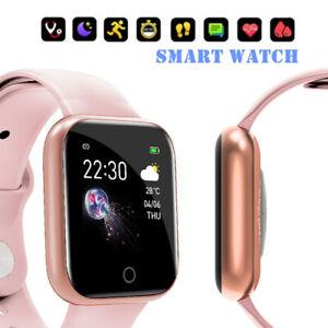 2020 Smart Watch Bluetooth Heart Rate Blood Pressure Fitness Tracker IP67 HOT