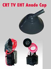 CRT Tv Flyback Transformer Anode Cap Rubber Cover EHT Spark Guard Vintage Parts