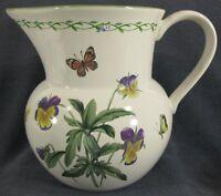 Studio Nova Garden Bloom Y2372 Beverage Pitcher Pansies Butterflies Bees