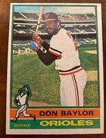 1976 Topps #382 Don Baylor Baltimore Orioles