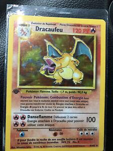 1st Edition Charizard (Dracaufeu)French Base Set -1999 Pokemon
