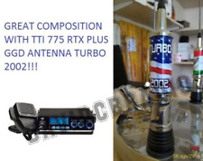 TTI 775 CB Radio Plus TURBO 2002 American Flag Antenna 2000 Watt PEP Truck Van