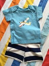 Nouveau Bébé Mini Boden Amusant Coastal Playset Play Set-bleu avion - 3 To 6 mois
