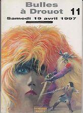 Catalogue Vente BD Bulles à Drouot 11 - 19 avril 1997. Superbe