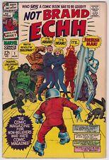 Not Brand Echh #1 VG+ 4.5 Forbush Man Marvel Humor First Issue!