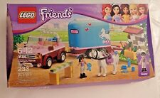 NIB Lego Friends Emma's Horse Trailer 3186 Retired Truck Jeep Pony Emma Robin