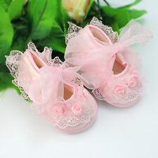 1 paire chaussures pour bébé 0-3 mois pour poupée,poupon de rose
