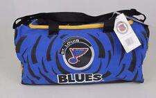 VINTAGE NWT NOS ST. LOUIS BLUES NHL POWER PLAY MAGAZINE DUFFLE TRAVEL GYM BAG