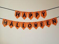 Escribano Halloween. Decoraciones, fiesta espeluznante Banner, Guirnalda de calabaza.