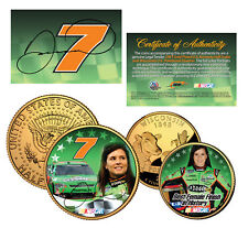 DANICA PATRICK Wisconsin Quarter & JFK Half Dollar US 2-Coin Set NASCAR LICENSED