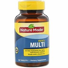 Nature Made, Men's Multi, 90 Tablets  Gluten Free