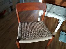 Niels Moller 75 Teak Chair Stuhl Danish Design 60s Table Mid Century Møller 60er