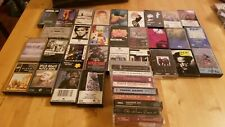 Lot Of 40 Vintage Original Cassette Tapes Rock metal 7 SEALED posies rem bowie