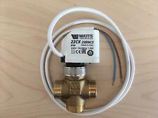 """3-Wege Umschaltventil  3/4"""" mit Stellmotor NC 230V für Heizung / Solar"""