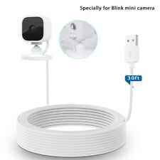 Holaca Power Extension Cable Specially for Blink Mini 30ft/9m Charging Cable