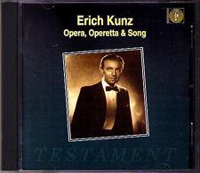 Erich KUNZ: MOZART LORTZING ZELLER STRAUSS Testament CD Die Zauberflöte Figaro