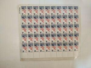 Vintage 1964 Nevada Statehood & Register Vote 5 Cent US Postage Stamp Sheet cn76