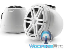 """JL AUDIO M3-650VEX-Gw-S-Gw 6.5"""" WHITE MARINE BOAT TOWER SPEAKERS TWEETERS NEW"""