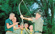 Camp May,Missouri,Beaumont Scout Rerservation,Boy Scouts,Archery Lessons,c.1950s