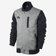 Nike Men's BB Padded Destroyer Jacket-  Large (grey/blue)