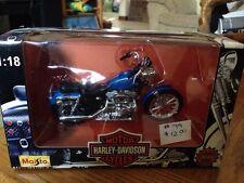 Maisto 1997 Harley Davidson 1:18 Scale Die Cast Xlh Sportster 1200 Nib