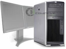 HP XW8400 Workstation Quad Core Xeon 1.86Ghz 4GB RAM 250GB HDD no OS Desktop