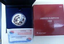 Año 2004. 10 EUROS DE PLATA. ESPAÑA. Juegos Olímpicos 2004.