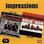 The Impressions - One By One / Ridin' High (CDKEND 152)