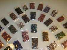 Set 15.000 correctif strass pierres u. Métal studs ss10 3mm 20 couleurs + div. accessoires