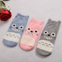 Lolita Girls Cartoon Totoro Socks Adult Cute Totoro Cotton Blend Sock 3 Colors