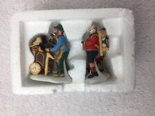 Cobbler And Clock Peddler # 58394 Dept 56 Dickens Village Accessory