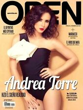OPEN MEXICAN MAGAZINE ANDREA TORRE NOVIEMBRE 2014 REVISTA OPEN MEXICO NEW