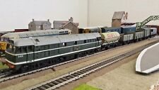 Super British Rail Class 31/1 Diesel Freight Train - Complete. Works with Hornby