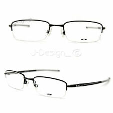 Oakley RHINOCHASER OX3111-0252 Satin Black Half-Rimless Eyeglasses Rx - New