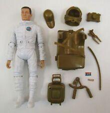 Vintage Marx Johnny Apollo Astronaut Figure + Accessories Movable Spaceman 1968