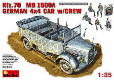MIN35139 - Miniart 1:35 - Kfz.70 (MB 1500A) German 4x4 Car w/ Crew