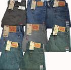 New Levi's Men's Jeans 504 Regular Straight Fit Blue Gray 30 32 33 34 36 38 40