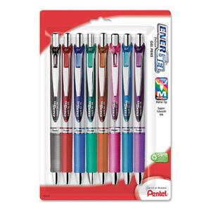 Pentel EnerGel RTX Liquid Gel 0.7 Pen 8/pk