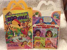 McDonald's 1988 Zoo-Face Happy Meal Box - Bird House