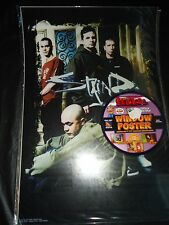 "RICKO'S STICKOS WINDOW PEEL & RESTICK POSTER 2002 11""X16"" STAIND"