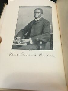 Vintage 1906 Lyrics of Lowly Life Book Paul Laurence Dunbar  intro WD Howells
