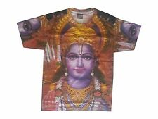 Men T Shirt Rama Shiva Kali Hindu India XL New Tee Peace Art Print Online Buy
